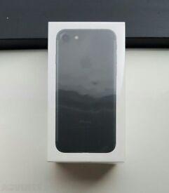 Brand new iPhone 7 128gb matte black SEALED unlocked