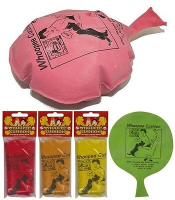 Whoopee Cushion Fart Whoopie Balloon Joke Prank Gag Trick Fun Party Toy Woopy BN