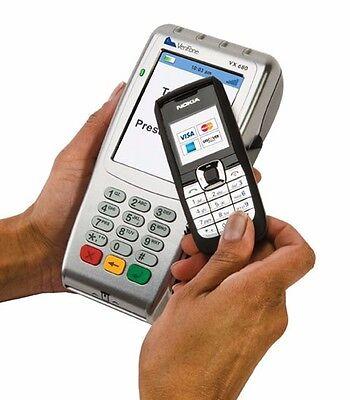 Free Verifone Vx680 Wireless Emv Ready Card Reader No Contract Free Supplies