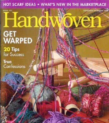 Handwoven magazine nov/dec 2004:plain weave, raanu rugs