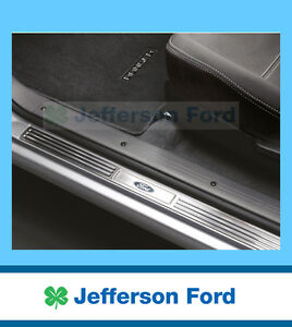 GENUINE FORD PK RANGER ACCESSORY STAINLESS STEEL SCUFF PLATES CREW CAB SET OF 4