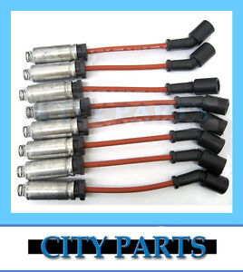 NEW GENUINE SPARK PLUG IGNITION LEADS HOLDEN GEN3 V8 5.7L LS1 VT VX VY VU VZ