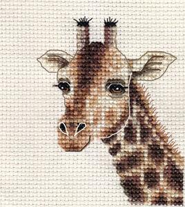 GIRAFFE ~ Full counted cross stitch kit + All materials ...