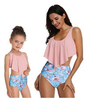 For Cute Baby Girls Bikini Family Matching Swimwear Mommy and Me Floral Panda](Cute Swimsuits For Girls)