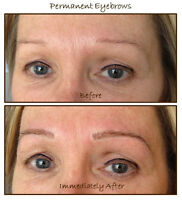 3D Hair Stroke Permanent Eyebrows - The Soft & Natural Kind!