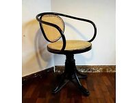 Vintage bentwood office swivel chair