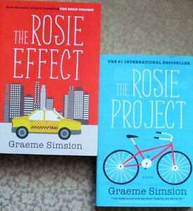 """""""The ROSIE PROJECT"""" & """"The ROSIE EFFECT"""" by Graeme SIMSION"""