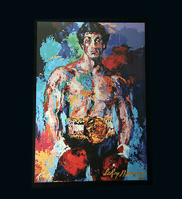 Rocky Balboa Movie Prop Replica Painting Poster Print