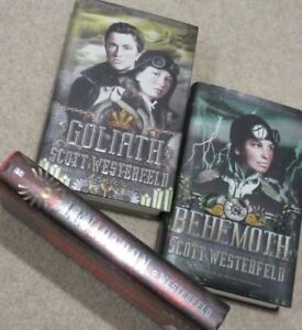 … The LEVIATHAN TRILOGY … by Scott WESTERFELD