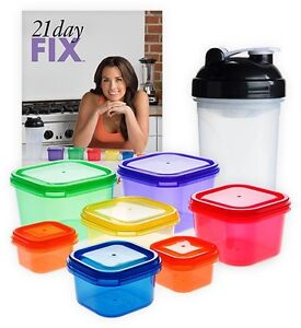 21 day fix shaker, containers, PiYo DVDs