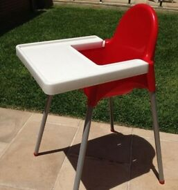 IKEA Red High Chair