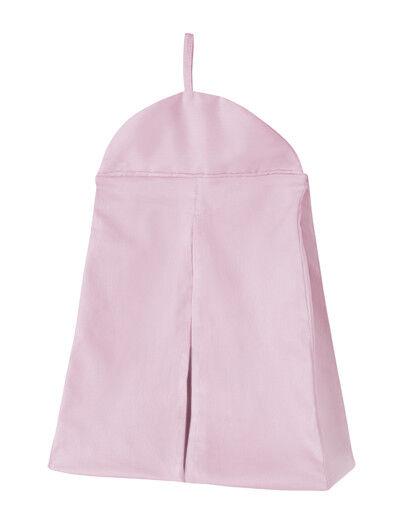 Sweet Jojo Baby Crib Room Nursery Girls Pink Diaper Stacker Storage Organizer