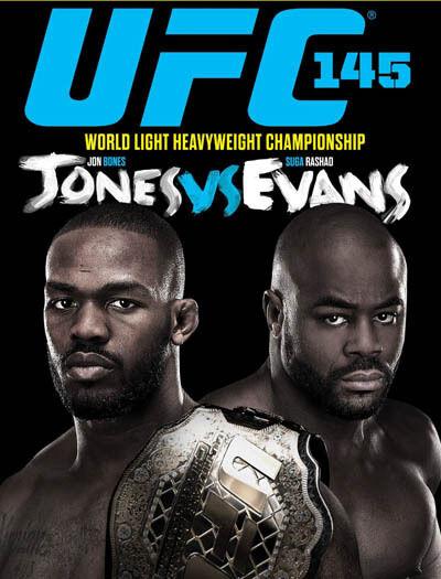 UFC: 145 Jones vs Evans  (2 Discs) New Sealed Region 4