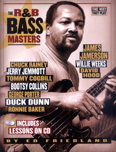 The R&B Bass Masters - The Way They Play Ed Friedland Noten mit CD