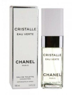 Chanel Cristalle Eau Verte Eau De Toilette Concentree Spray 100ml Edt - New