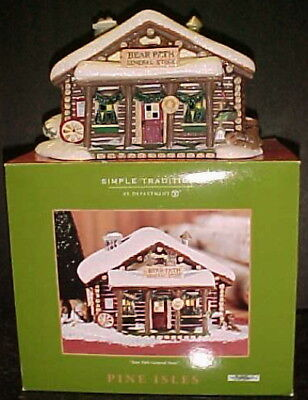 NEW 2002 Retired Department Dept 56 Pine Isles Bear Path General Store 56.05948