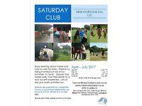 New Horizons Saturday Club April-July 2017
