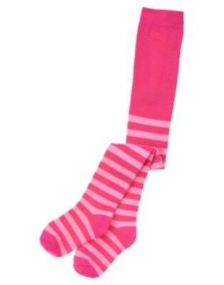 GYMBOREE STYLISH CORGI FUCHSIA PURPLE PINK STRIPED TIGHTS 0 6 12 24 NWT](Purple And Pink Striped Tights)