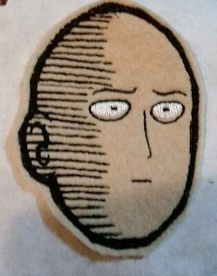 One Punch man embroidered patch