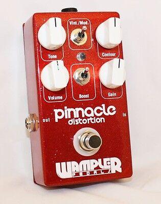 Wampler Pinnacle Distortion Guitar Effect Pedal (The EVH 'Brown' Sound!) - NEW!