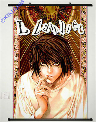 Neu Anime Manga DEATH NOTE  Wallscroll Stoffposter 60x90cm 003 Death Note Stoff