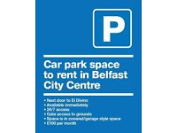 Car ParkSpace - Belfast City Centre