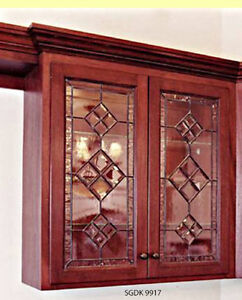 My not add Stain glass cabinet inserts to your Doors