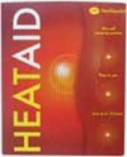 ** HEAT AID 2 HEAT PATCHES PADS SELF WARMING  NEW ** MUSCULAR ACHES BACKACHE