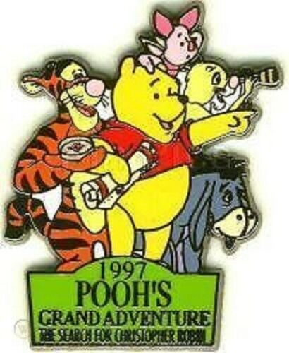 Disney Winnie the Pooh Grand Adventure Search for Christopher Robin Eeyore pin