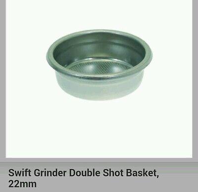 La Marzocco Swift Grinder Double Shot Basket Espresso Coffee Bean Grinder 22mm