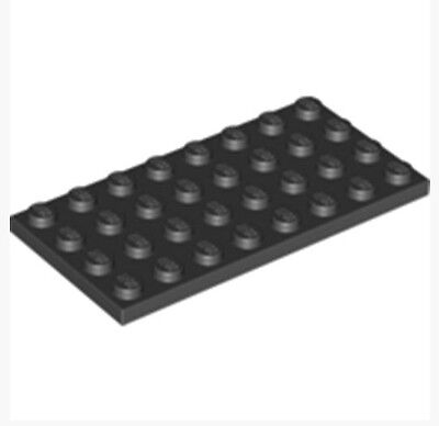 Lot of 25 3034 303426/_LEGO Plate 2x8 /_ Black