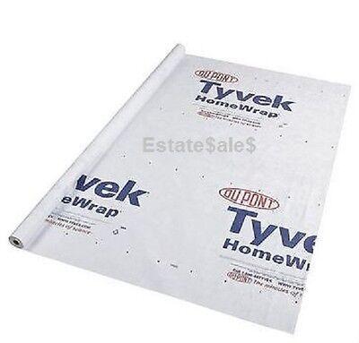 (9 by 5 foot - Tyvek Tent Floor Saver w/ 8 Self Adhesive Tie-Off Anchor Loops)