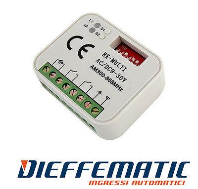 Miglior prezzo RICEVITORE COMPATIBILE APRIMATIC PER APRIMATIC TR2 TR4 TM4 433,92MHZ TELECOMANDI