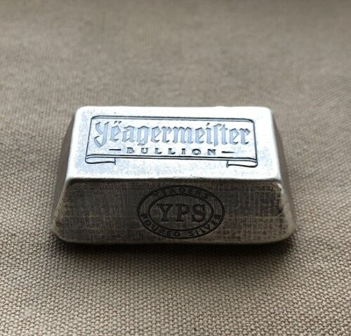 """3oz Yeagermeister Bullion """"Truncated Pyramid"""" by Yeager"""