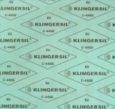 Klingersil (qm=160,-€) C4400 1,0mm Dichtmaterial Wasser Trinkwasser KTW ÖVGW HTB