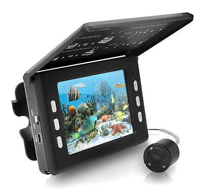 "PFSHCMR1 Underwater Waterproof Night Vision Fishing Camera Video Record 3.5"" LCD"