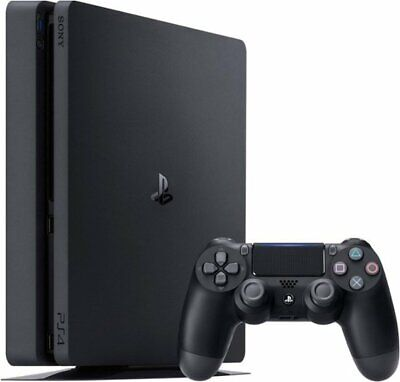 New & Sealed - Sony Playstation 4 PS4 Slim 1TB Gaming Console Black CUH-2215B
