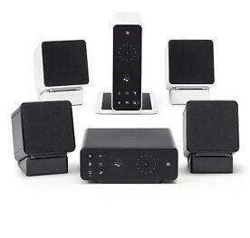 Denon CEOL Carino PC- und Bluetoothsystem, NFC, D/A-Wandler, schwarz & weiß