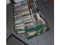 CD's … 2 x BOXES OF 150 ASSORTED USED CD'S (300 APPROX IN TOTAL) ALL CASES HAVE CDS