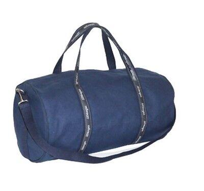 J P Morgan Jpmorgan Chase 21  Original Duffel Banker Bag Navy Dark Gray