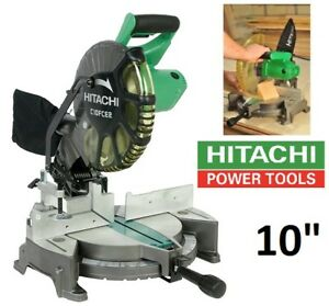"NEW HITACHI 10"" 15AMP COMPOUND MITER SAW WITH LASER MARKER"