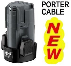 NEW Genuine Porter-Cable 12V 12 Volt Lithium-Ion Li-Ion Battery PCL12BLX