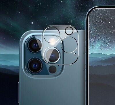 Protector de Cámara para iPhone 12 Pro Max 6.7'' Cristal Templado Lente...