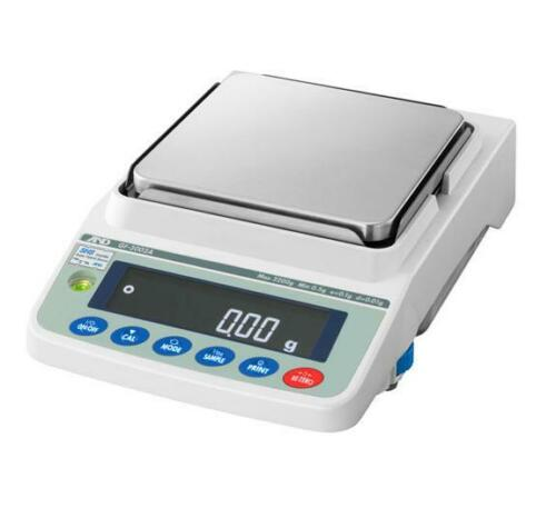 A&D GF-3002A Precision Lab Balance, Compact Jewelry Scale 3200gX0.01g, NEW