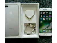 IPhone 7 plus 32GB silver, o2