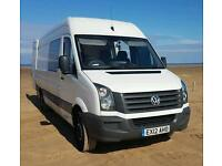 Vw Crafter 2012 7seater lwb van