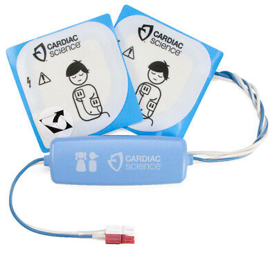 Cardiac Science G3 Aed Childinfant Electrode Pads 9730 Exp 70122 8yrs 55 Lb