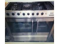Double Gas Hob and Double Electric Oven