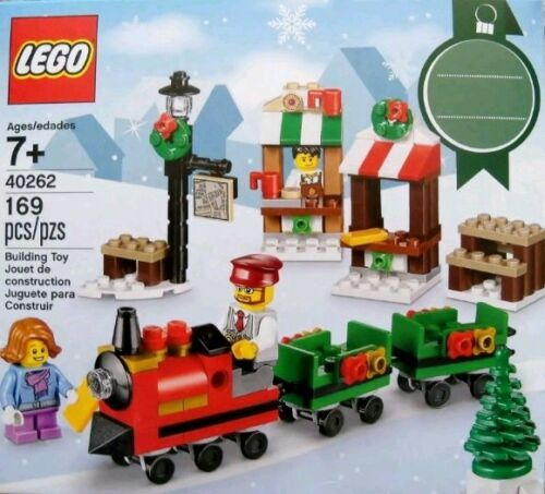 LEGO Seasonal Holiday Christmas engine Train 40262 gift tag