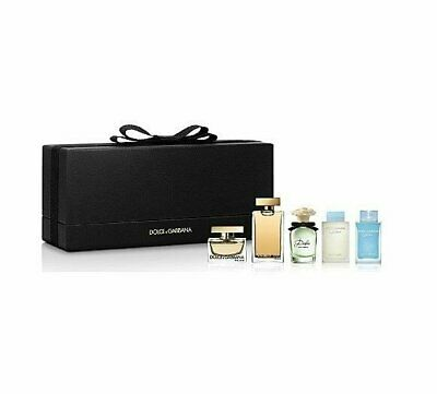 Dolce & Gabbana 5 Piece Mini Gift Set for Women Light Blue,T